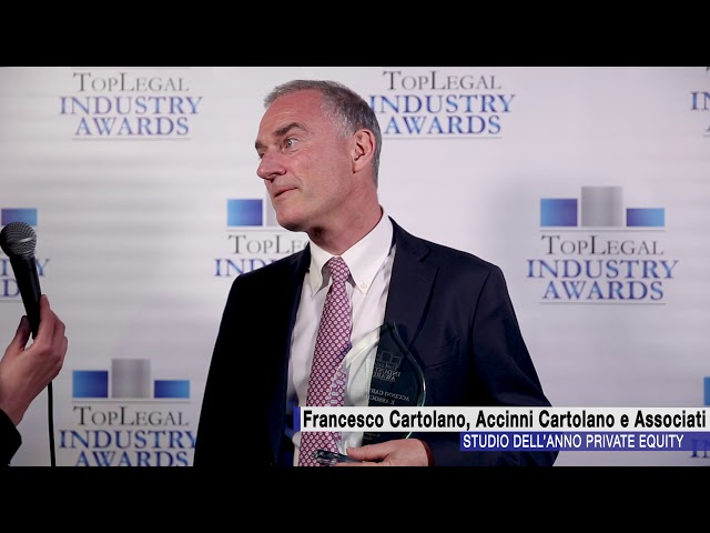 Francesco Cartolano, Accinni Cartolano e Associati  - TopLegal Industry Awards 2018