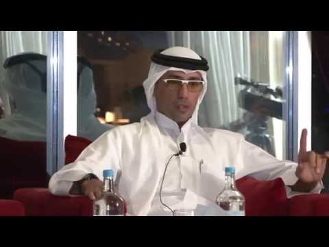 Mohammed Al Habtoor at the Global Business Series, May 2014