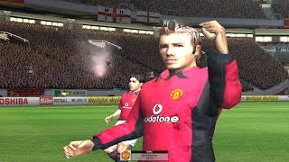David Beckham - Free Kick Goal - Fifa Football 2003