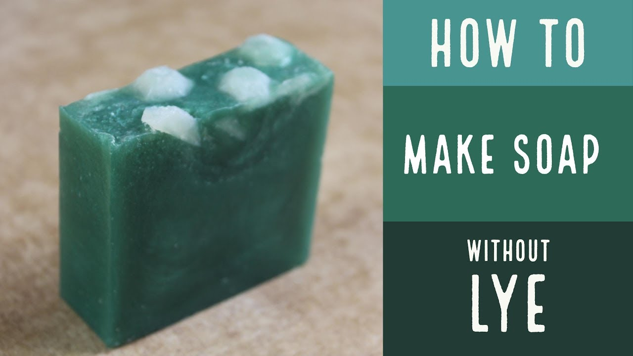 How to Make Essential Oil Soap without Lye/ Spearmint Eucalyptus/ How To Make Soap