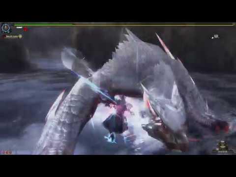 Monster Hunter Frontier Z | Blinking Nargacuga | Solo | Dual Blades | Lesser Slay thumbnail