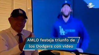 De la mano del mexicano Víctor González y con cobijo de Julio Urías, los Dodgers de Los Ángeles derrotaron 3-1 a los Rays de Tampa Bay y ganaron la séptima Serie Mundial de su historia