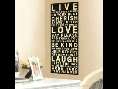 Live Laugh Love Wall Decor Ideas   YouTube
