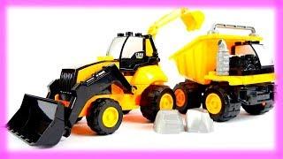 Vamos construir um caminhão de brinquedo! Vídeos para crianças.