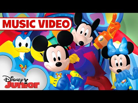 Super Hero Hot Dog Dance  Music   Mickey Mouse Clubhouse  Disney Junior