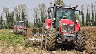 Aratura 2018 - MASSEY FERGUSON 8690-7726 | ER.MO | Big plowing in Italy