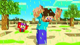 MINECRAFT But RAIN Is BURNING ACID! (Dangerous)