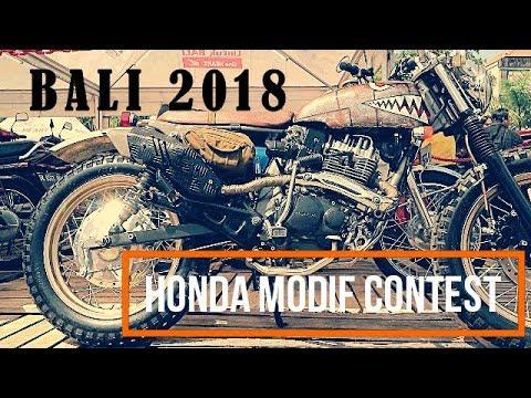 HONDA MODIF CONTEST 2018 DENPASAR BALI