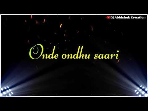 Download Vande Vandu sari Kannada broken heart black screen status