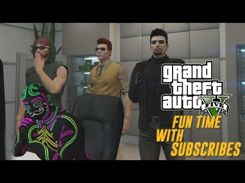 GTA 5 live stream Fun Time with subscribers (Lol gamer)