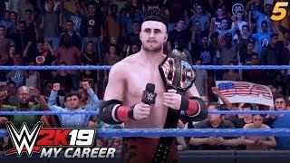 WWE 2K19 MY CAREER | #05 - Wyzywam każdego na pojedynek!