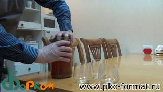 Приготовление натурального виноградного сока или вина, с помощью мялки и автоклава