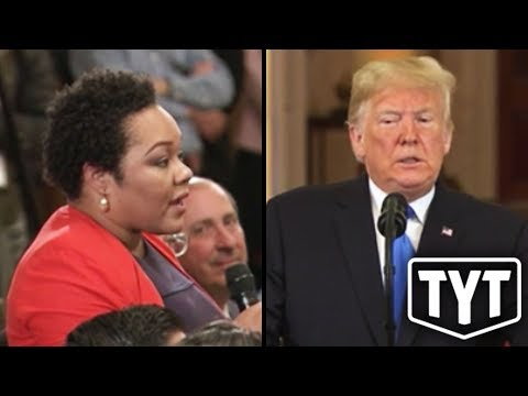"""Trump To Black Reporter: """"That's A Racist Question!"""""""