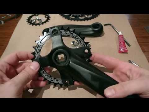 1x10 Conversion Part 2, Triple To Single Crankset With 30t Race Face Narrow Wide