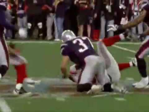 Giants v s Patriots superbowl 42 best play ever Eli Manning to David Tyree amazing catch