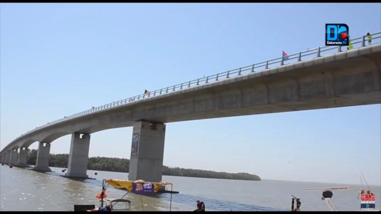 Gambie Le pont de Farafeni inauguré et baptisé pont de la Sénégambia