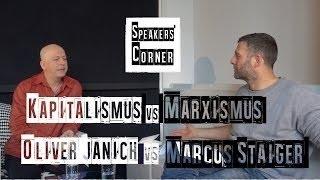 Marxismus vs. Libertarismus: Bushido-Co-Autor und Zeit-Journalist Marcus Staiger vs. Oliver Janich