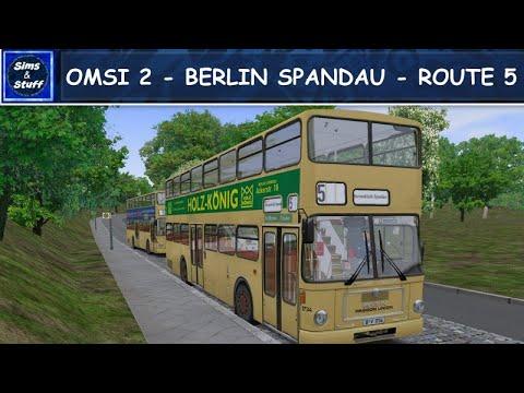 OMSI 2 - Berlin Spandau - Route 5 - MAN SD200