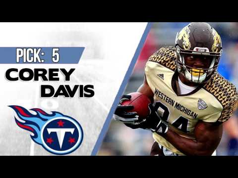 TENNESSEE TITANS SELECT COREY DAVIS 5TH OVERALL | 2017 NFL DRAFT