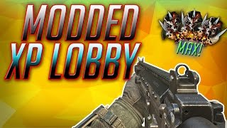 BO2 FREE MODDED XP AND CAMO LOBBIES!! Live Stream Ep11