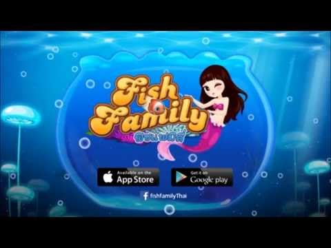 Fish Family - [iOS][Android] - Game Trailer - Appgame.in.th