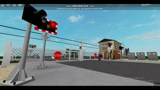 Ham Road Station Level Crossing ROBLOX F T HSTFan6, Pixleplays8 and Harrykj55