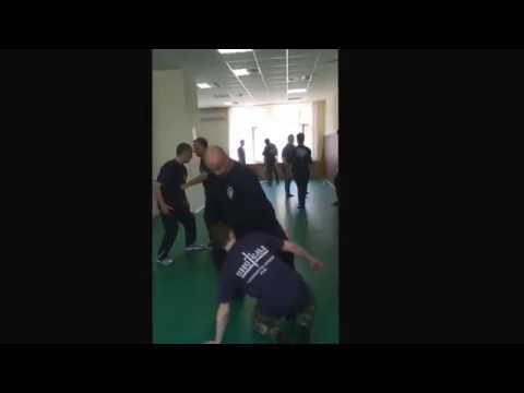"Sergey Davletshin teach ""pull out the balance of partner""."