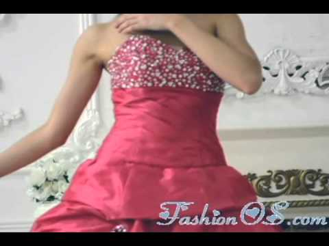 hot-pink-quinceanera-dress-with-pick-ups-and-beading-topdresses100.com