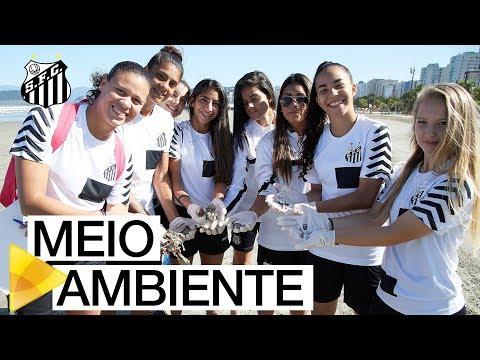 Santos FC participa da 6ª Semana Metropolitana do Meio Ambiente | #MUITOALÉMDOFUTEBOL