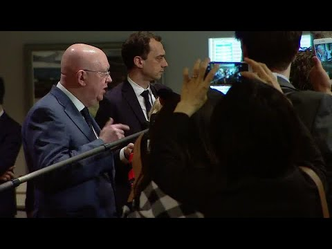 Russian Federation on the Situation in the Middle East (Syria) - Media Stakeout (13 April 2018)