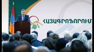 ՀՀ Վարչապետը ներկա է գտնվել «Հայագրոֆորում» համաժողովի բացմանը