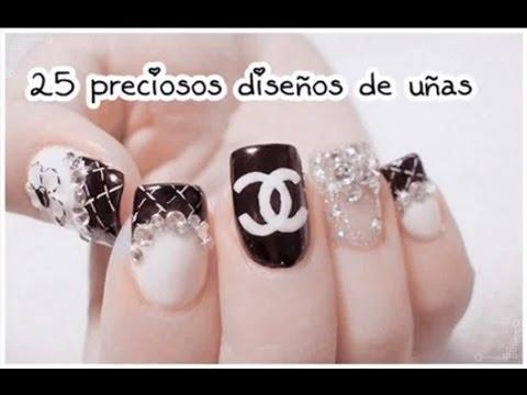 25 preciosos diseños de uñas ♥