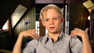 """The Book Thief: Nico Liersch """"Rudy"""" On Set Movie Interview"""