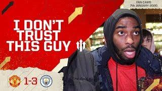 OLE'S PHILOSOPHY? Man Utd 1-3 Man City EFL Cup Semi-Final Fan Cam