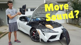 First Cheap 2020 Supra Engine Mod!! *Didn't Work*