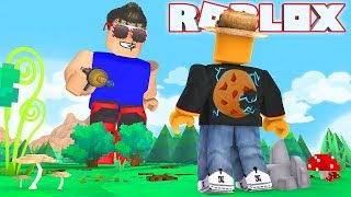 WORLDS BIGGEST GIANT vs ME in ROBLOX!!