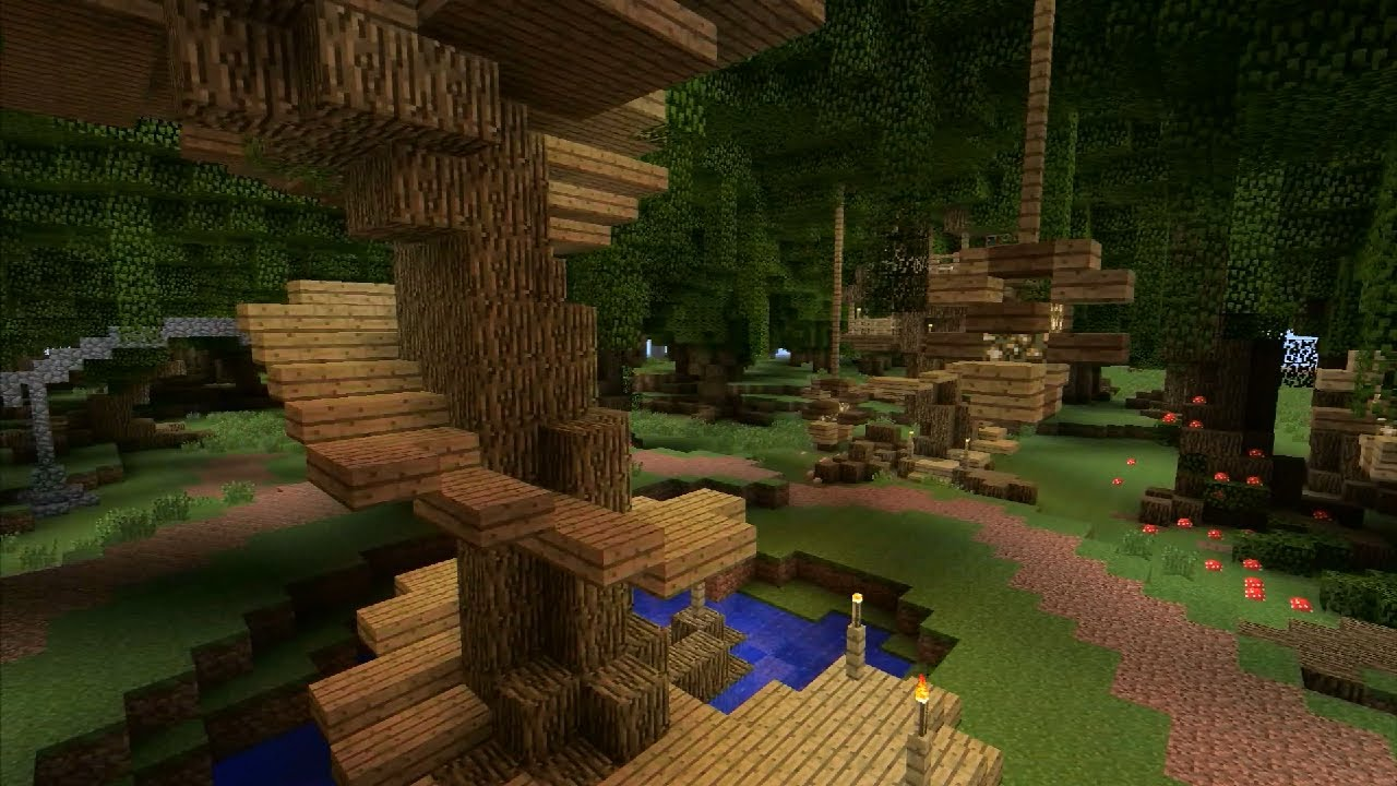 Building With Grian   Treehouse   YouTube