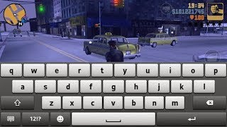 How to enter cheat codes in android gta san andrea or gta vice city or gta 3 using virtual keyboard