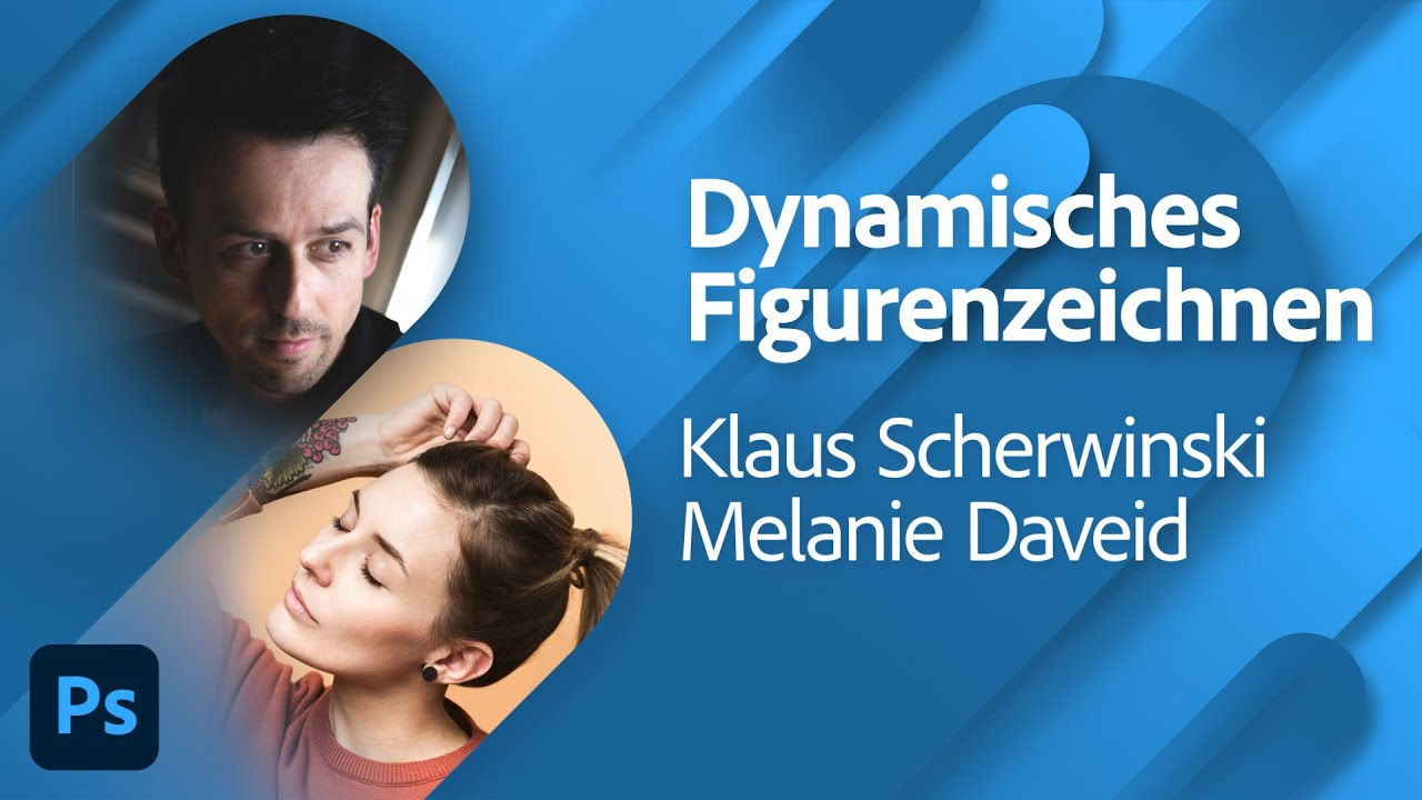 Dynamisches Figurenzeichnen Teil 2 mit Klaus Scherwinski und Melanie Daveid |Adobe Live