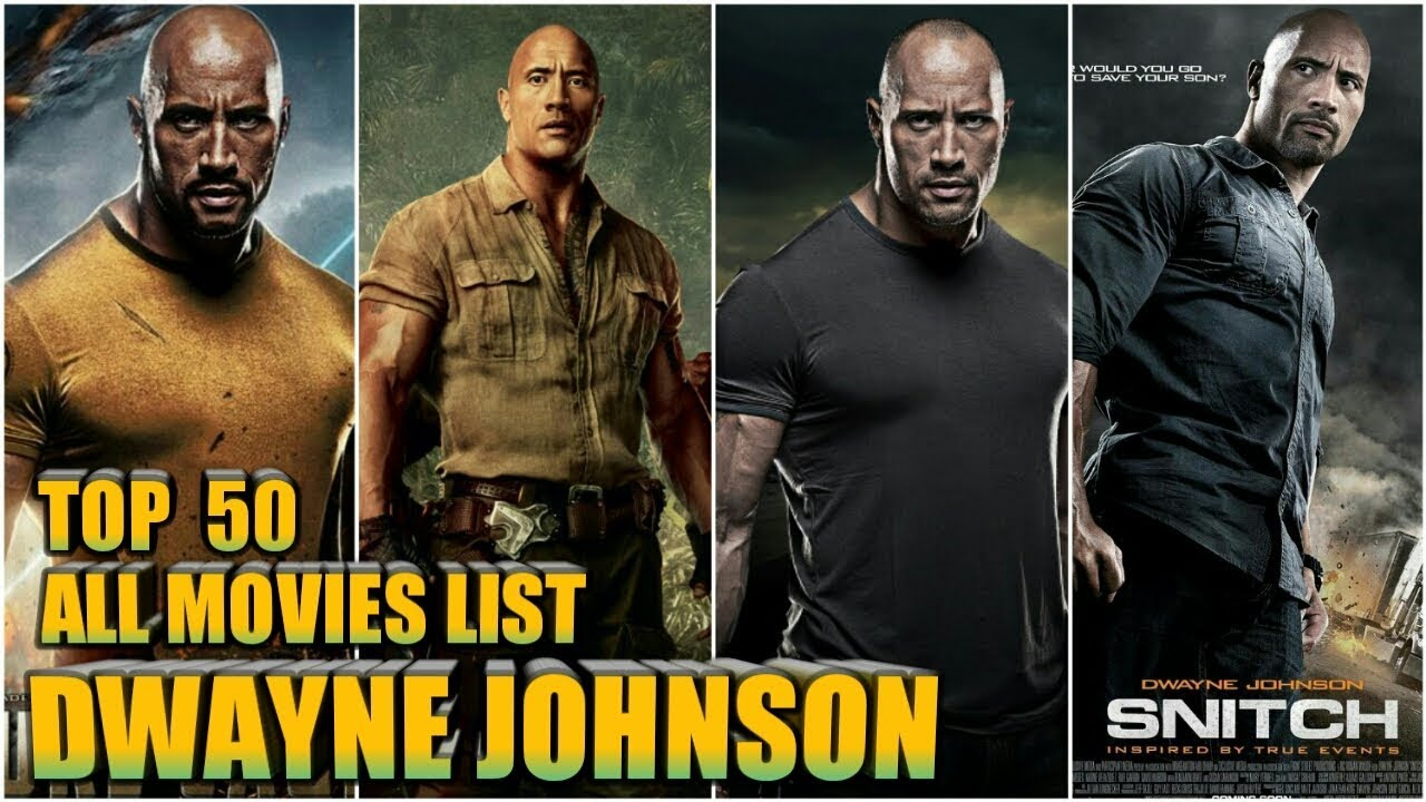 dwayne johnson all films list filmography youtube. Black Bedroom Furniture Sets. Home Design Ideas