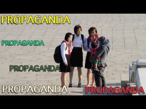 Propaganda video - Pyongyang North Korea