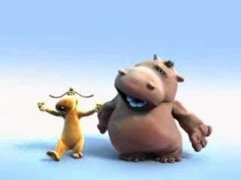 Happy Hippo Pat and Stan | The Lion Sleeps Tonight - EXTENDED VERSION | Cartoons for Children