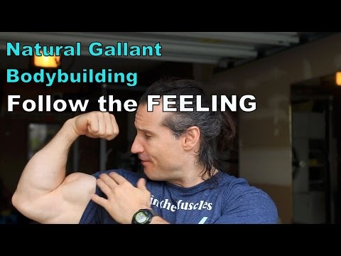 Follow the Feeling, NOT the Technique in Your Natural Bodybuilding Workout Program