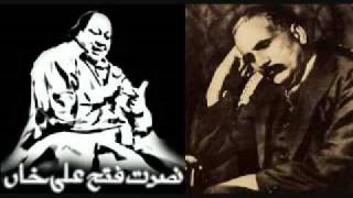 Nusrat fateh ali khan - Kabhi Ay Haqeeqat e Muntazir -allama iqbal poetry