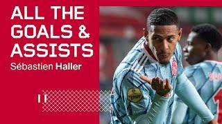 ALL GOALS & ASSISTS - Sébastien Haller 2020/21
