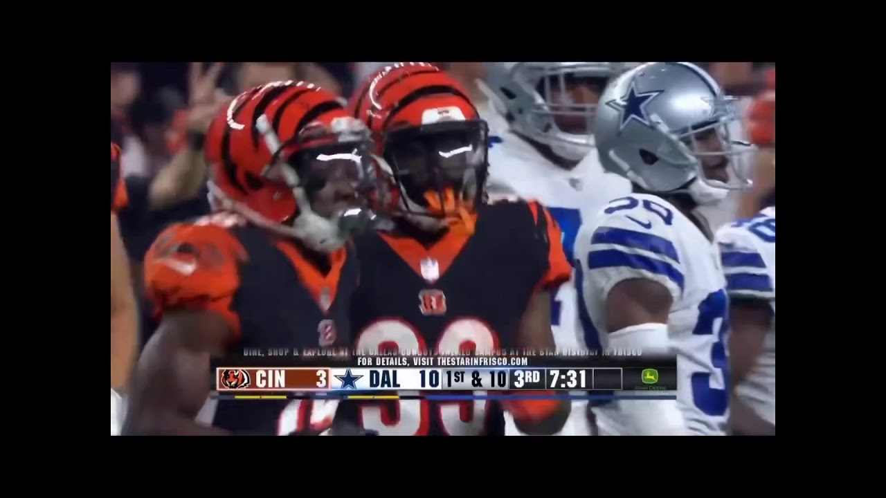 Tra Carson Bengals Highlights - YouTube