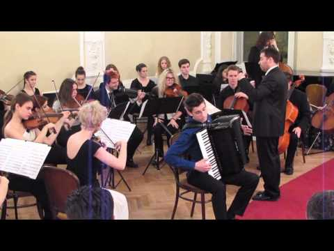 A.Vivaldi-Four Seasons-Summer(II.,III. Mov) Accordion- MARTIN KUTNAR