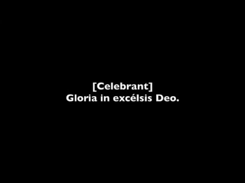 Gloria Latin Mass VIII (Gregorian Chant)
