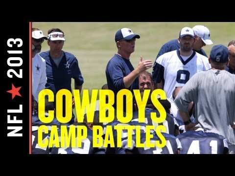 Dallas Cowboys Top Five Training Camp Battles