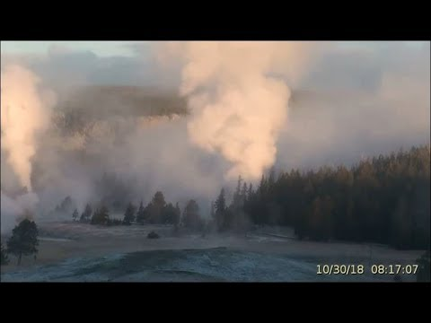 Clear Day- Gorgeous Geysers! Oct 30, 2018 TL @Yellowstone! Private